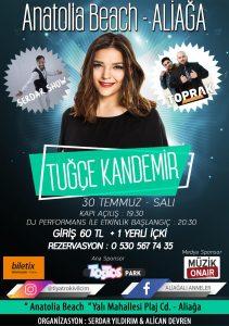 Müzik OnAir Medya Sponsorluğunda Tuğçe Kandemir Konseri