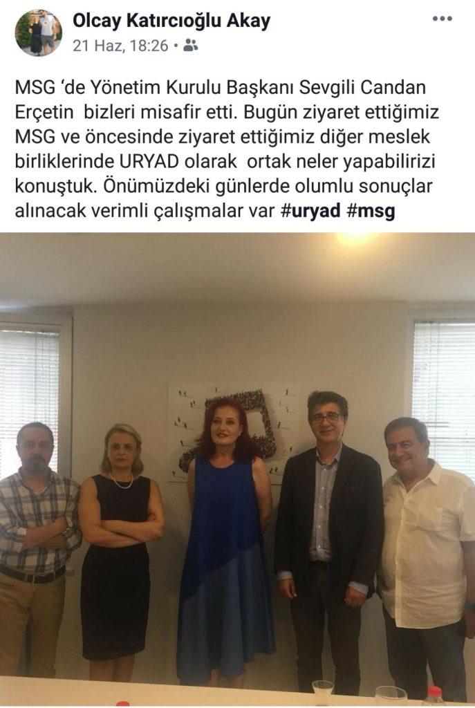 URYAD Ve MSG'den Ortak Çalışmalar Geliyor