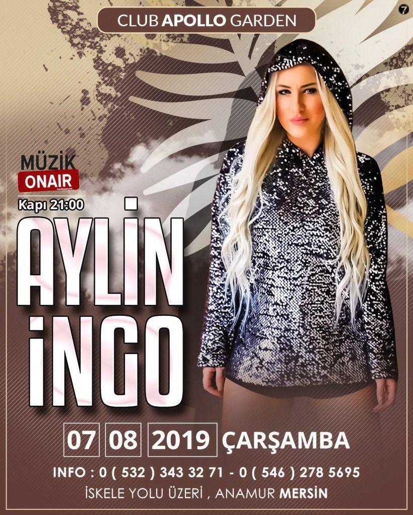 Aylin İngo Limitsiz Müziğiyle Mersin'de!