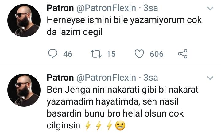 Patron Flexin, Hayki'yi Düşman İlan Etti