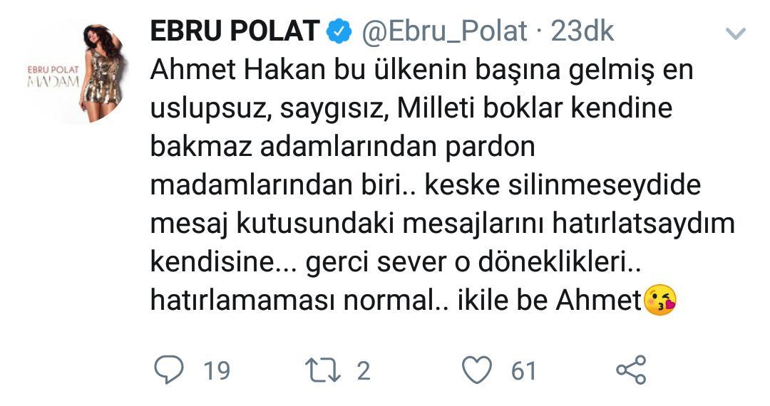 Ebru Polat'ın Öfkesi Dinmiyor!
