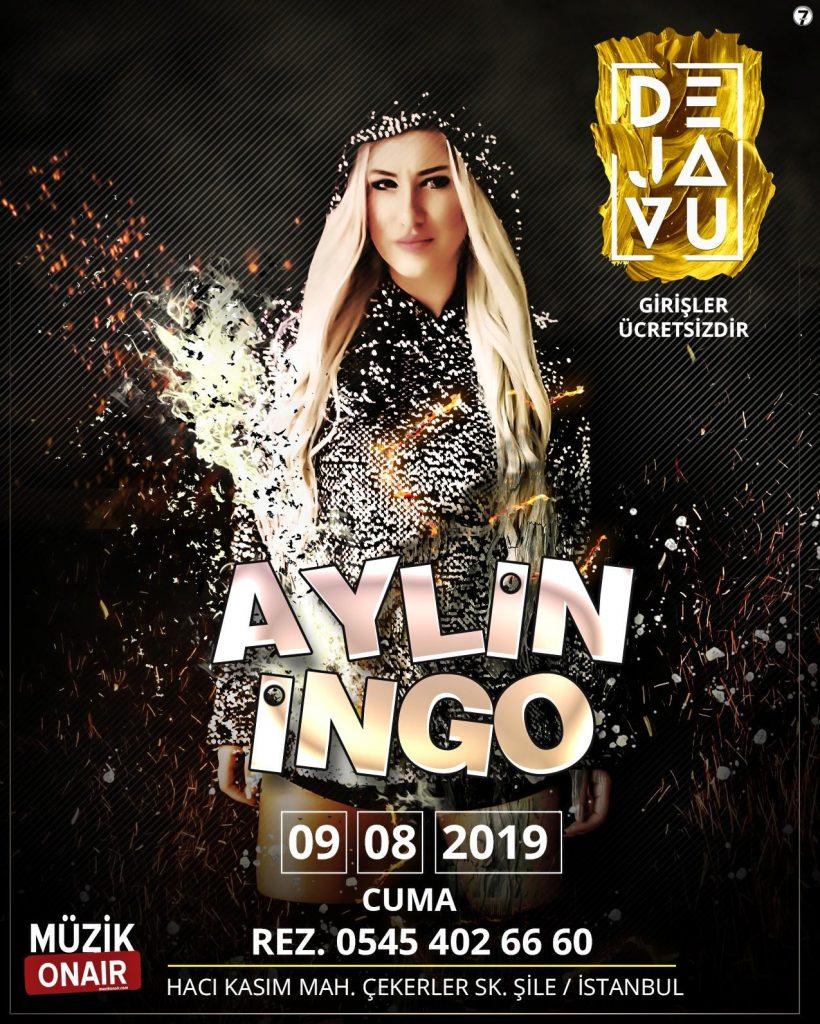 DJ Aylin İngo Limitsiz Müziğiyle Dejavu Club'da