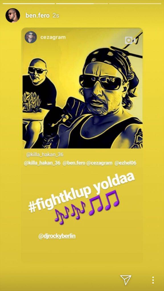 """Rap'in Yıldızlarından Yeni Şarkı """"Fight Klup"""""""