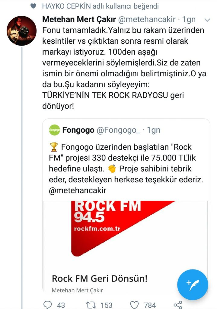 Türkiye'nin Tek Rock Radyosu Geri Dönüyor