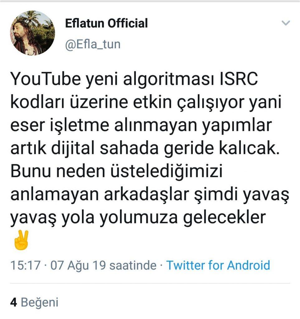 Eflatun ve Ender Çabuker Youtube'un Yeni Düzenlemesini Tartıştı