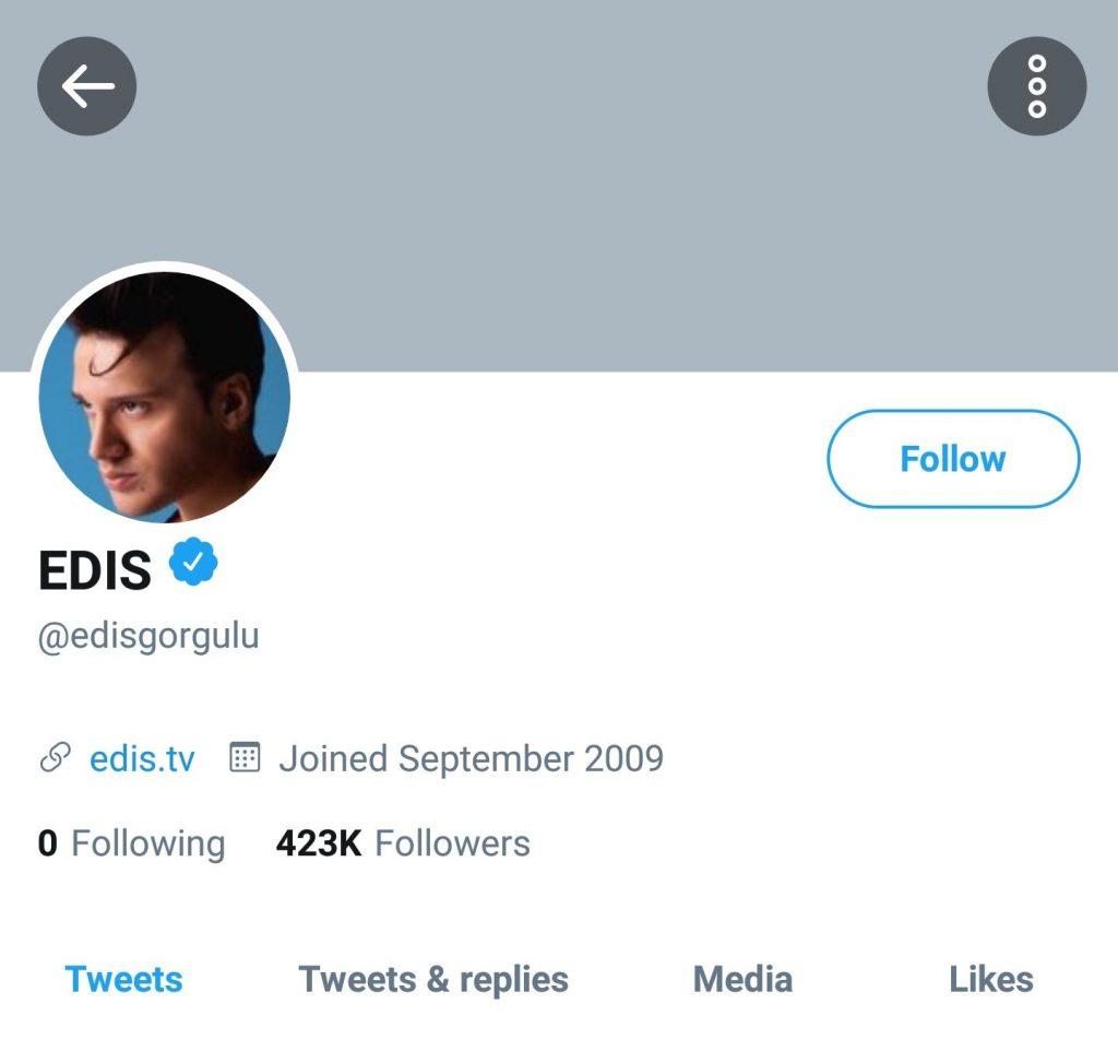 Edis'in Sosyal Medya Hesaplarına Ne Oldu?