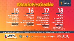 İzmir'in En Büyük Müzik Festivali 15-18 Ağustos'ta