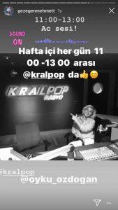 Kral Pop Radyo'da Yeni Program
