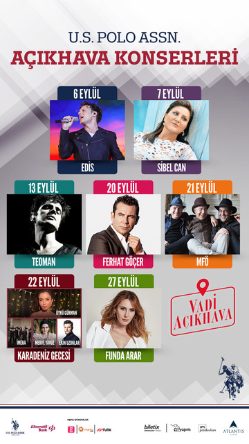İstanbul'da Eylül Ayı Yine Dopdolu!