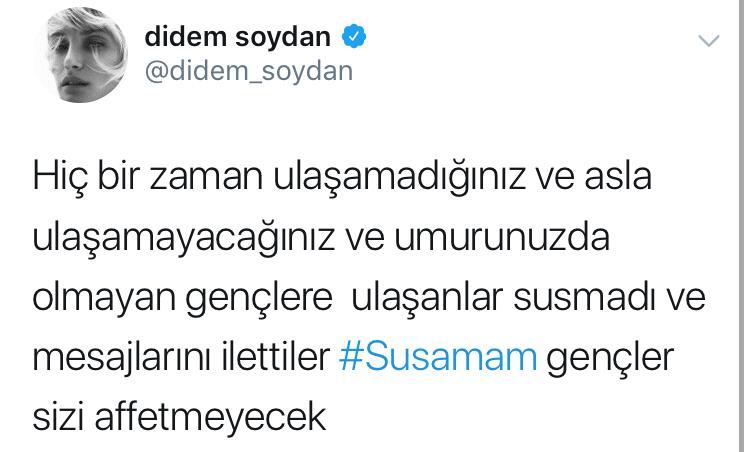 Şanışer'in 'Susamam' İsimli Şarkısına Siyaset Karıştı