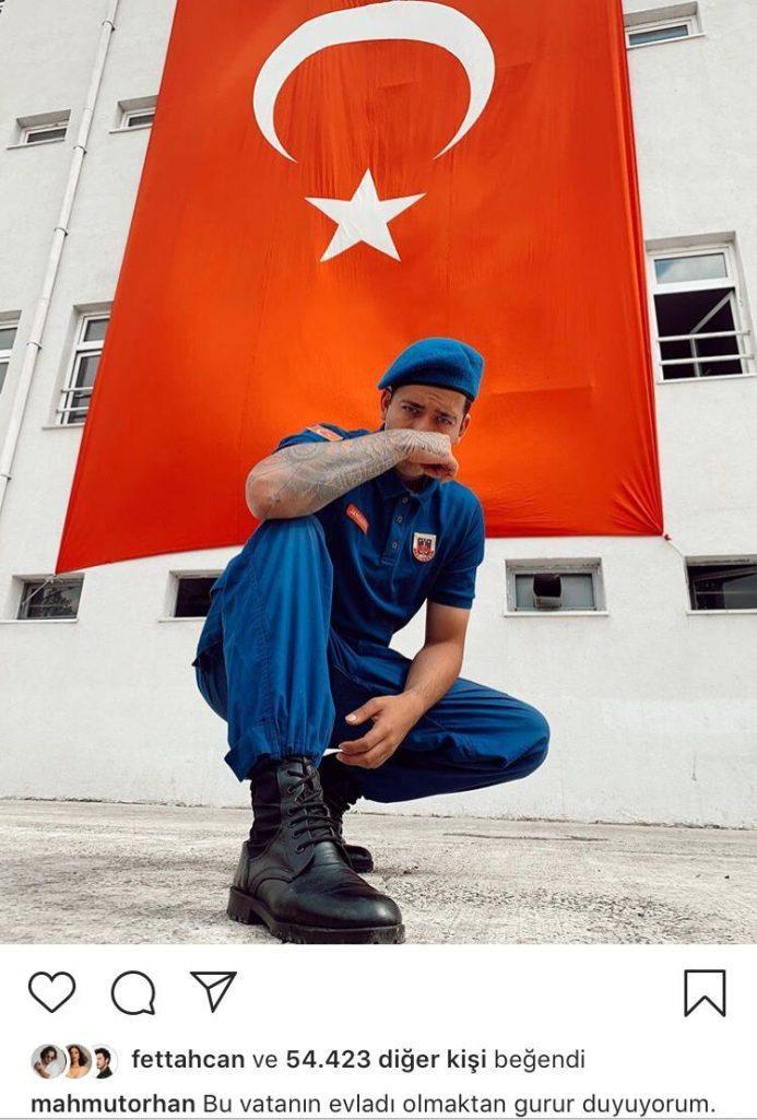 Dj Mahmut Orhan'dan Jandarma Üniformalı Paylaşım