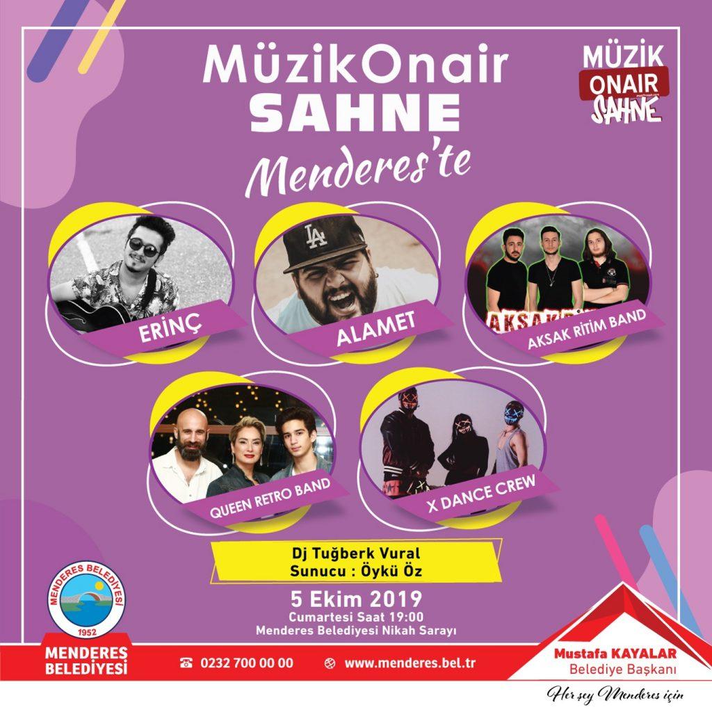 Müzik Onair Sahne İzmir'de Sahne Alacak İsimler Belli Oldu