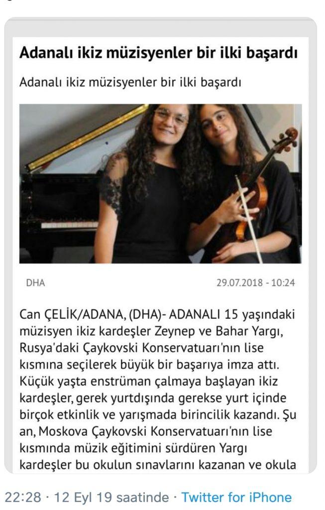 Haluk Levent'ten Müzisyen İkizlere Destek