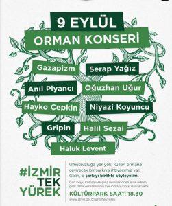 İzmir Orman Konseri Yıldızlar Geçidine Sahne Olacak