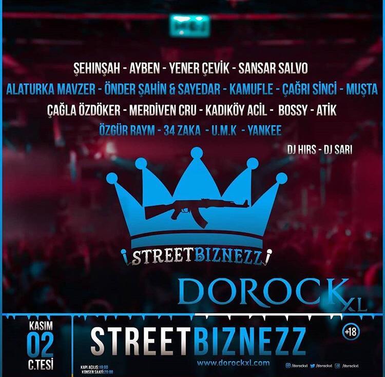Türkçe Rap'in Önemli İsimleri İstanbullular İle Kadıköy Dorock XL'da Buluşuyor