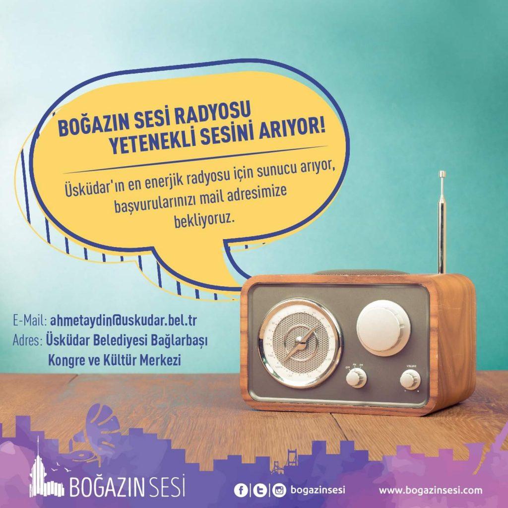 Boğazın Sesi Radyosu Sunucu Arıyor!