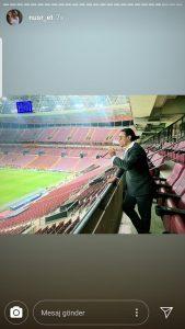 Nusret Stadyumda Yasak Dinlemedi