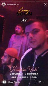 Reynmen ve Bilal Sonses Stüdyoya Girdi