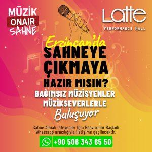 Erzincan'da Sahne Almak İster Misin?