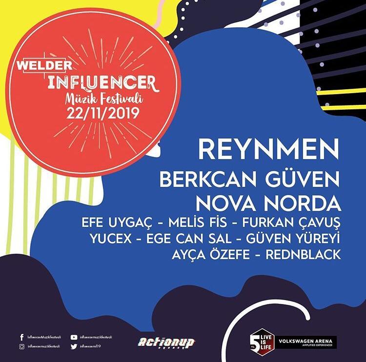 İlk Kez Gerçekleşecek Olan 'İnfluencer Müzik Festivali' ve Detayları…