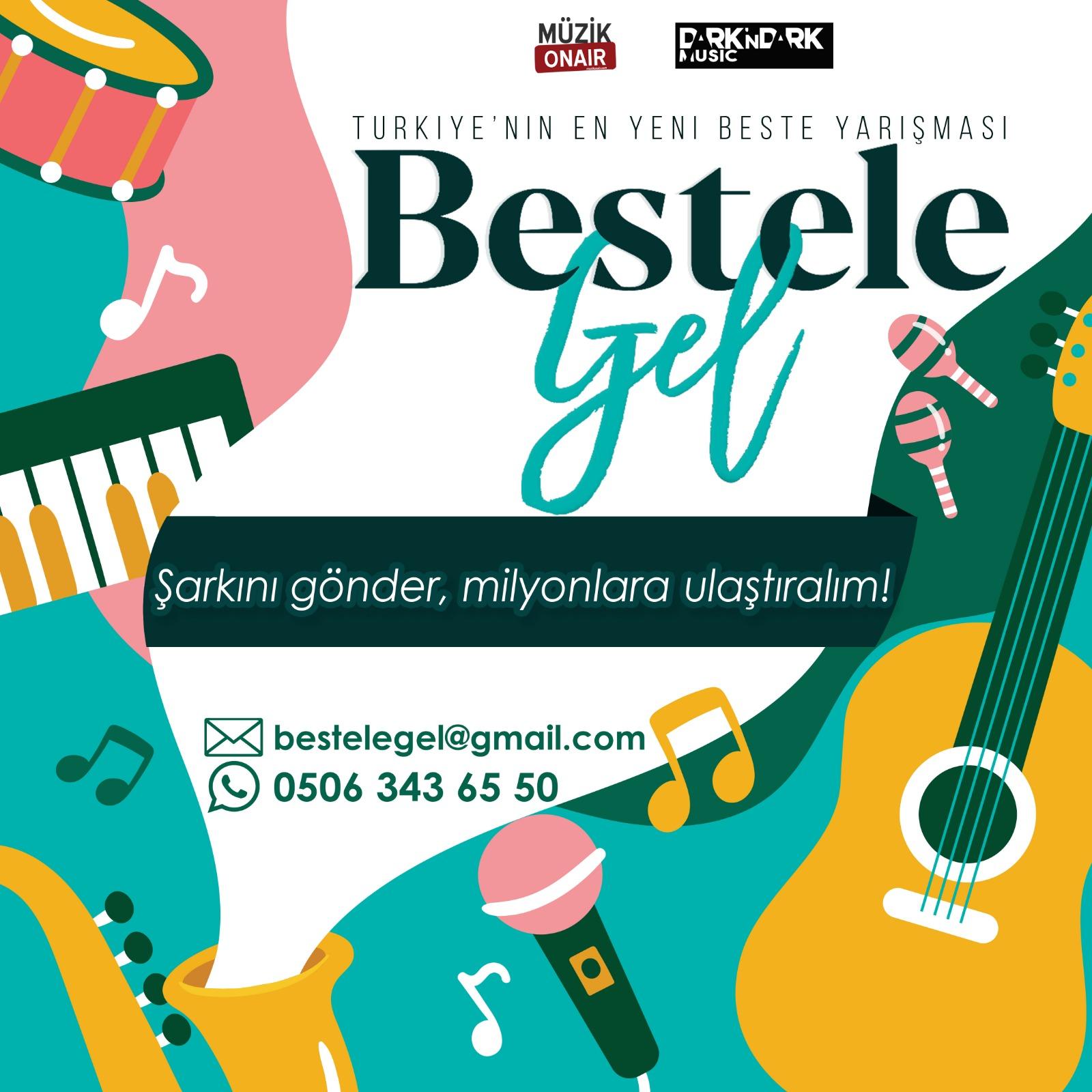 Türkiye'nin En Yeni Beste Yarışması İçin Başvurular Başladı