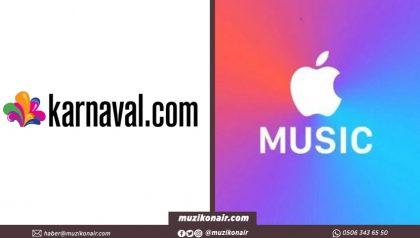 Karnaval ve Apple Müzik İşbirliğinde Pusula Stüdyo Kuruluyor