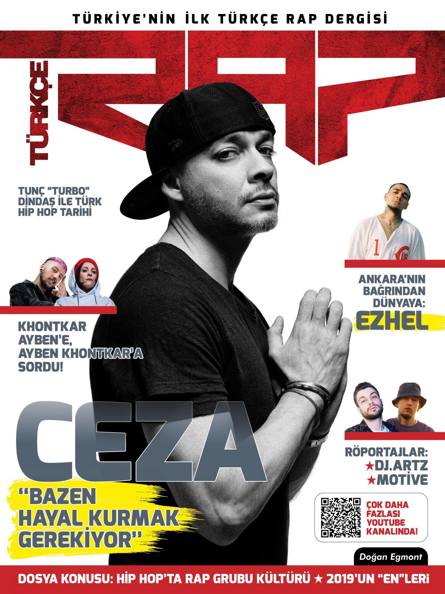 Türkiye'nin İlk Türkçe Rap Dergisi Yayın Hayatına Başladı
