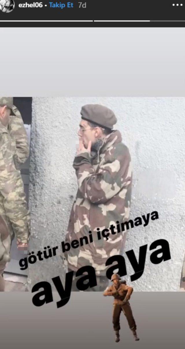 Asker Ezhel'den İlk Paylaşım: 'Götür Beni İçtimaya'