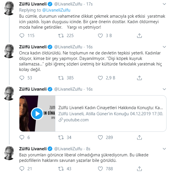 Zülfü Livaneli'nin Kadına Yönelik Şiddet Çözümü Tartışma Yarattı