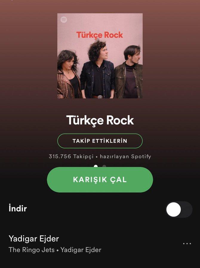 The Ringo Jets'in İlk Türkçe Şarkısı Spotify Kapağında