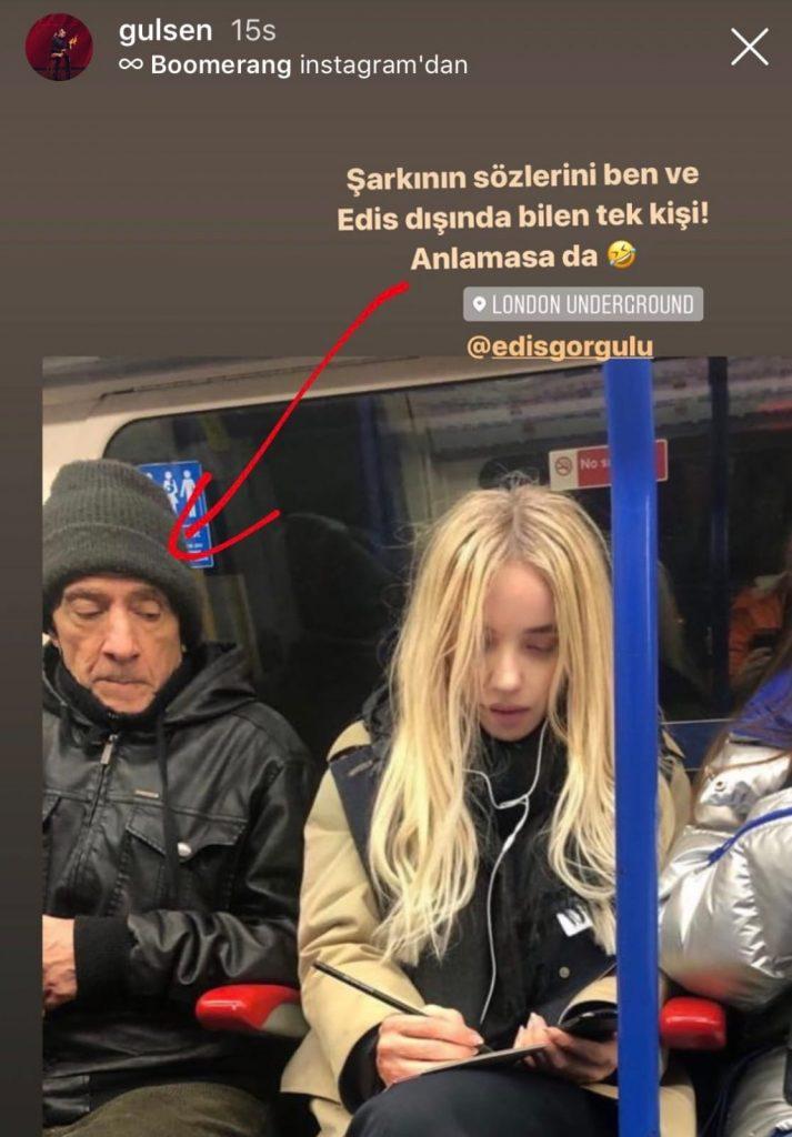 Gülşen Metrodan Paylaştı! 'Şarkının Sözlerini Bilen Tek Kişi…'