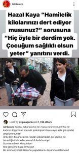Işın Karaca Hazal Kaya Haberini Yapan Muhabiri Uyardı!