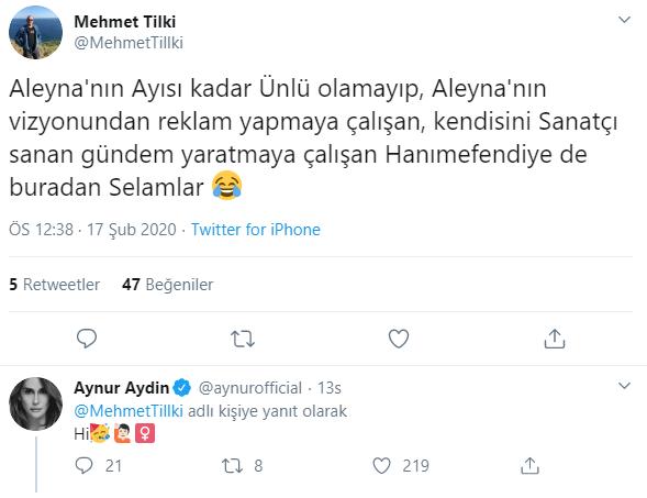 Aynur Aydın'dan 'Tilki'lere Sert Sözler!