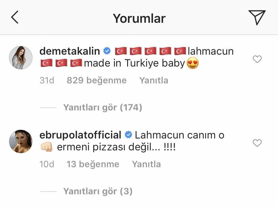 Kim Kardashian'ın Ermeni Pizzasına Tepki: 'Lahmacun O Canım…'