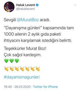 Murat Boz'dan Duyarlı Hareket!