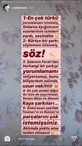 Ceylan Ertem'den Hayranlarına Kürtçe Şarkı Müjdesi