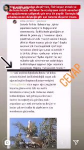 """""""Doğaya Zarar Verdin"""" Diyen Takipçisine Bahadır Tatlıöz'den Jet Yanıt!"""