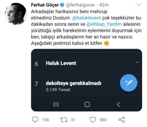 Ferhat Göçer Sosyal Medyada Sanatçı Kimliğini Zedeliyor!