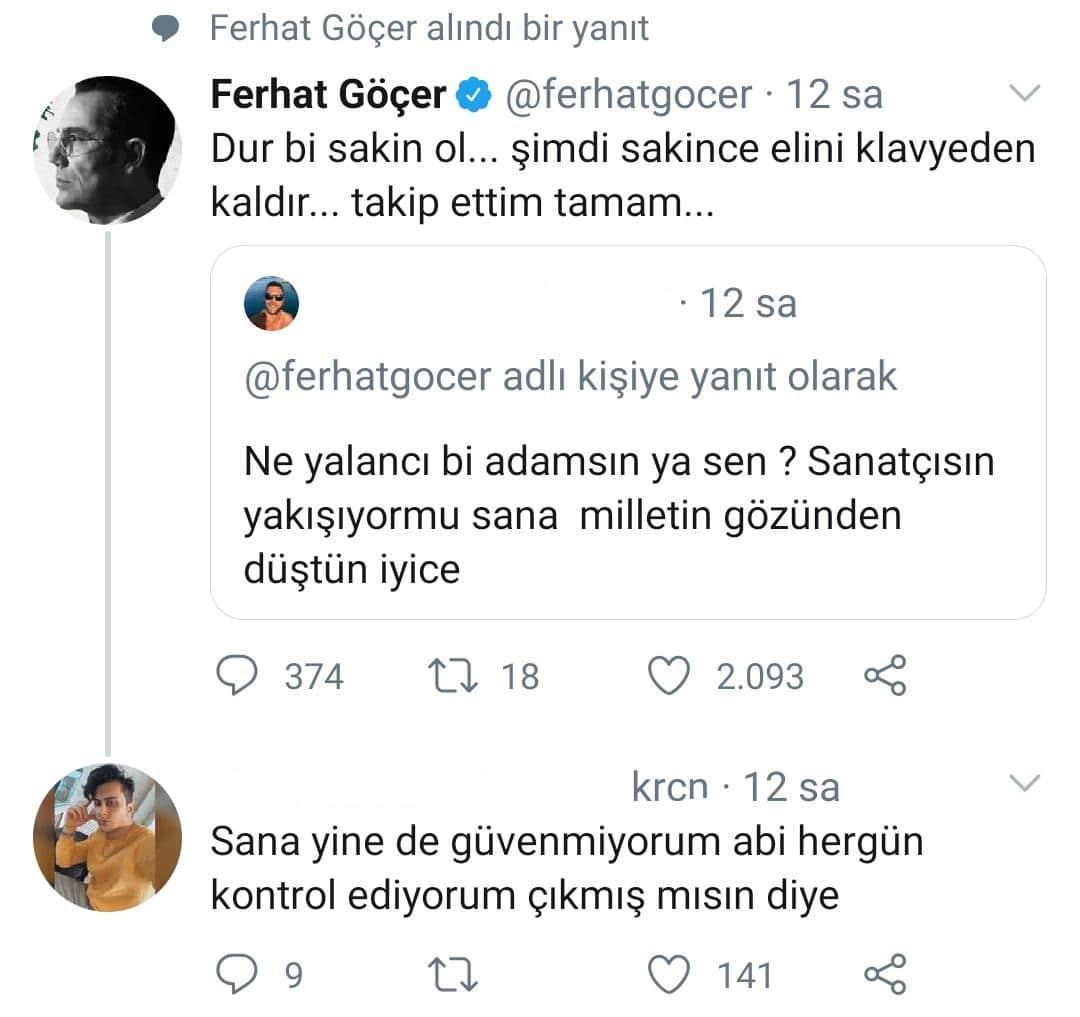 Ferhat Göçer'in Sosyal Medyada Takipçi Hamleleri Devam Ediyor!