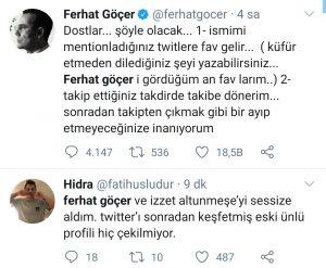 Ferhat Göçer'in Sosyal Medya İle İmtihanı