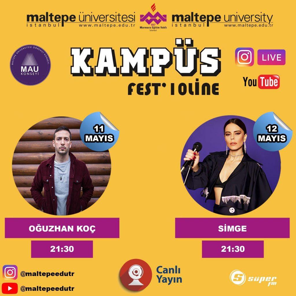 Simge ve Oğuzhan Koç Türkiye'nin ilk Online Festivalinde!