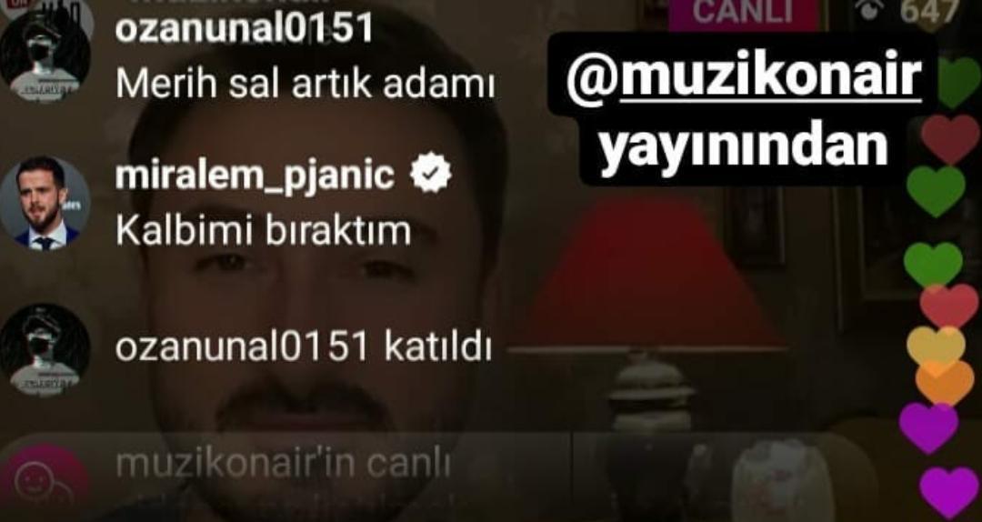Futbolcu Pjanic Müzik Onair Canlı Yayınına Damga Vurdu!