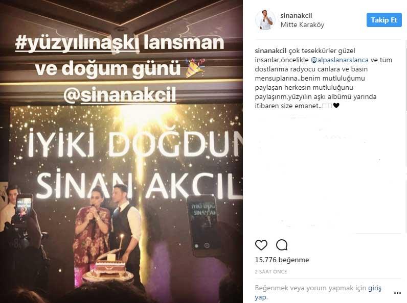 Sinan Akçıl Çaldı, Fettah Can Söyledi!..