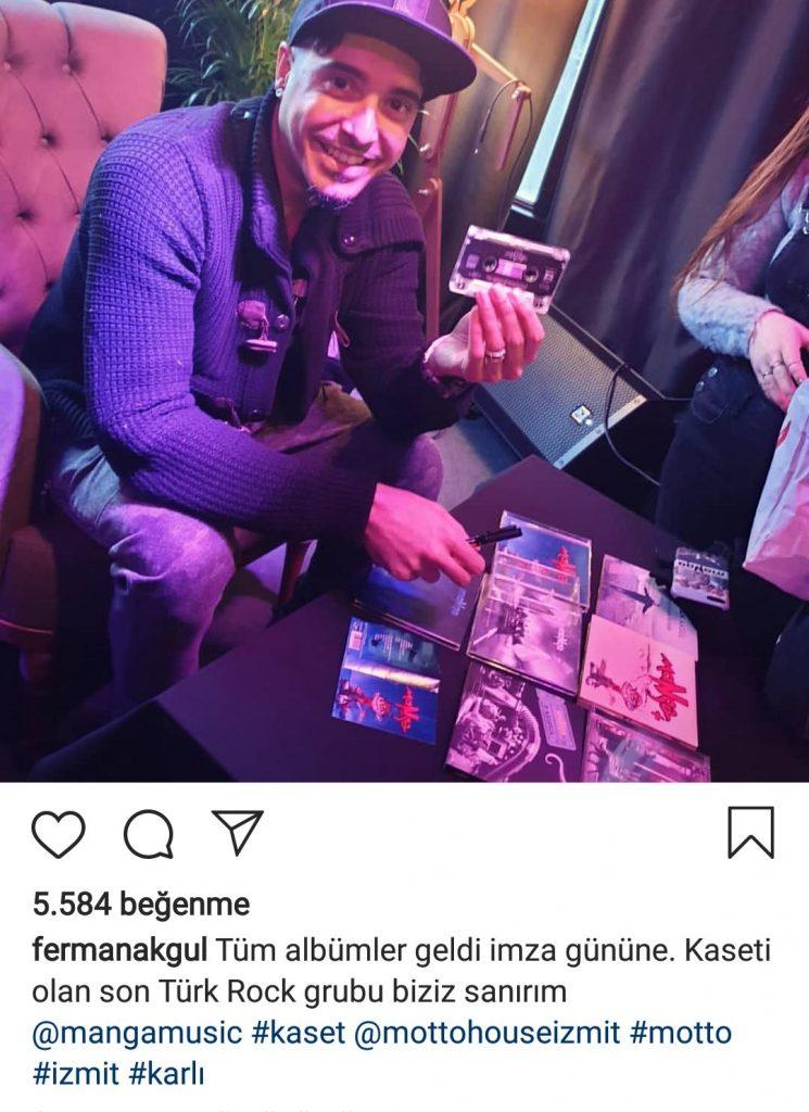 """Ferman Akgül; """"Kaseti Olan Son Türk Rock Grubu Biziz"""""""