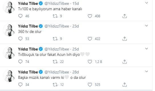 Yıldız Tilbe'den TV Kanallarına Açık Çağrı
