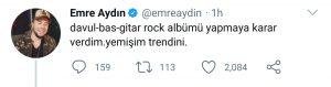 """Emre Aydın'dan Rap Yorumu: """"Yemişim Trendini"""""""