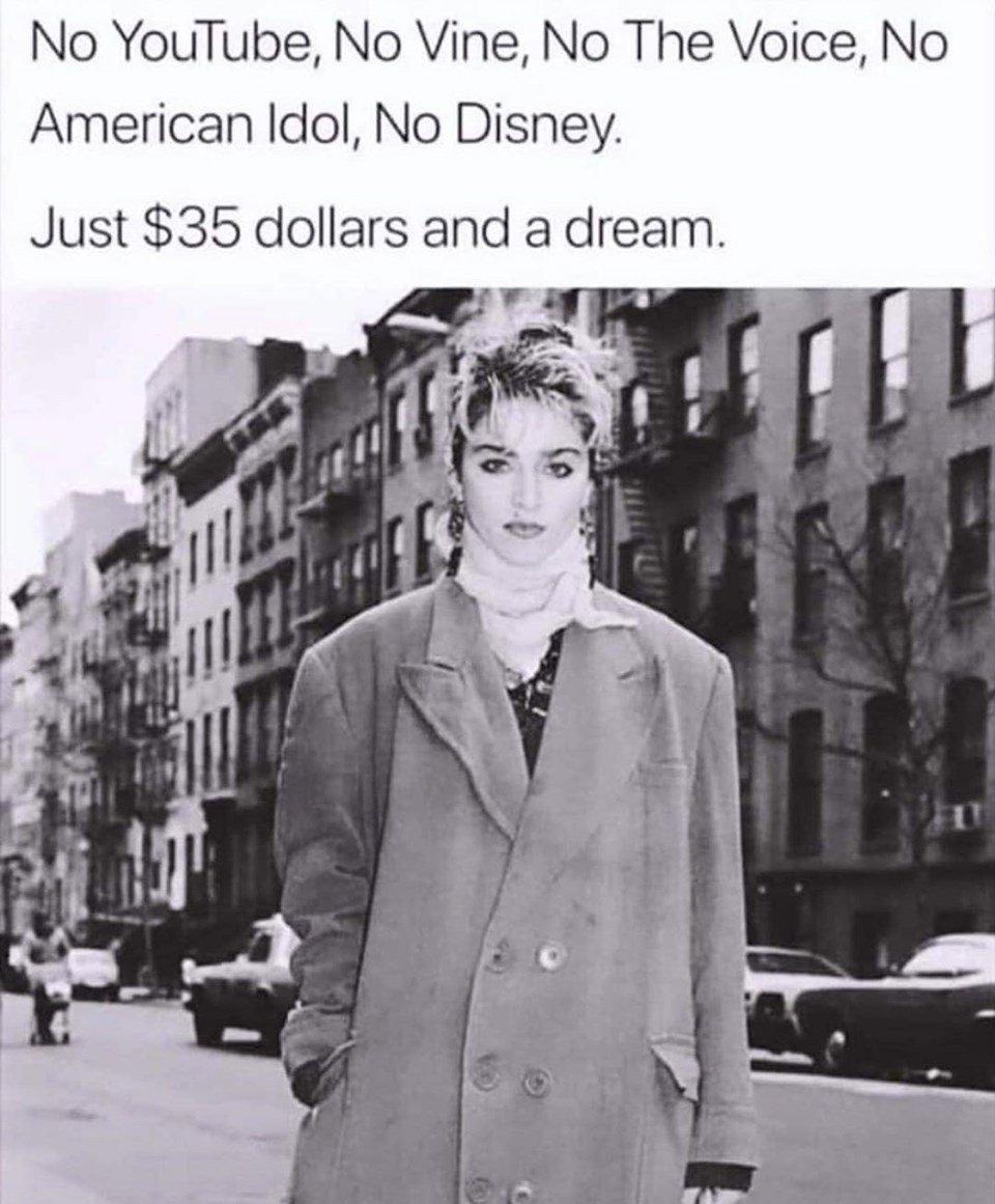 Madonna: 'Sadece 35 Dolarım ve Hayalim Vardı…'