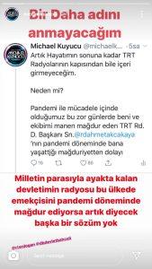 """Michael Kuyucu: """"Hayatımın Sonuna Kadar TRT Radyolarının Kapısından Girmeyeceğim"""""""