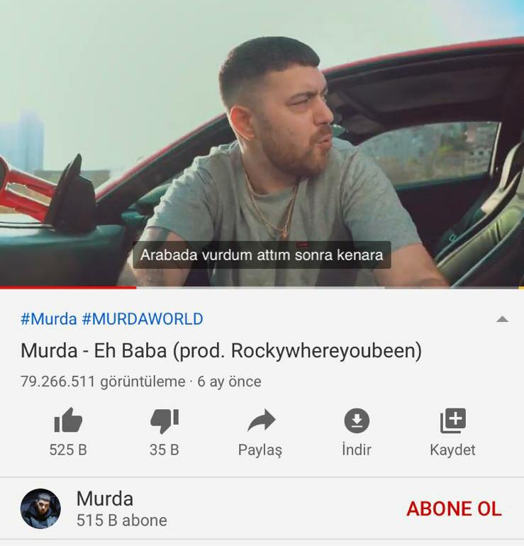 Küfür, Seks ve Uyuşturucu… Murda'nın Şarkıları Mercek Altında!