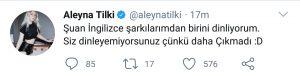 Aleyna Tilki'nin İngilizce Şarkısı Hangi Aşamada?